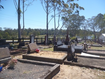 Ebenezer church cemetery graves