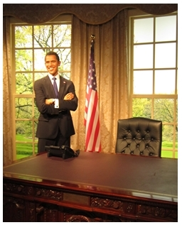 Madame Tussaud, Darling Harbour, Wax Museum, Obama, president