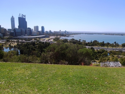 The views from Kings Park over Perth and the river are magnificent!