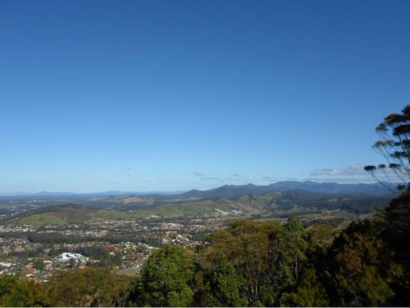 Forest Sky Pier Sealy Lookout Coffs Harbour Bruxner