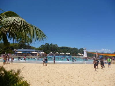 jamberoo action park wave pool outback bay