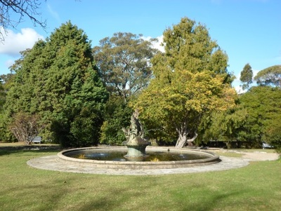 norman lindsay gallery museum fountain