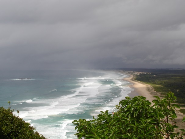 smokey cape lighthouse hat head national park captain cook's lookout  - Hat Head