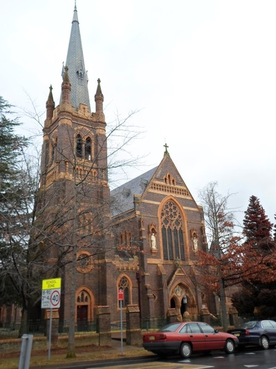 The Catholic Cathedral of St Mary and St Joseph Armidale