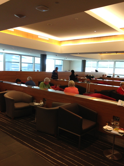 the qantas club brisbane domestic airport