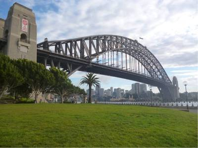 the rocks, dawes point park, sydney harbour bridge, hickson road reserve