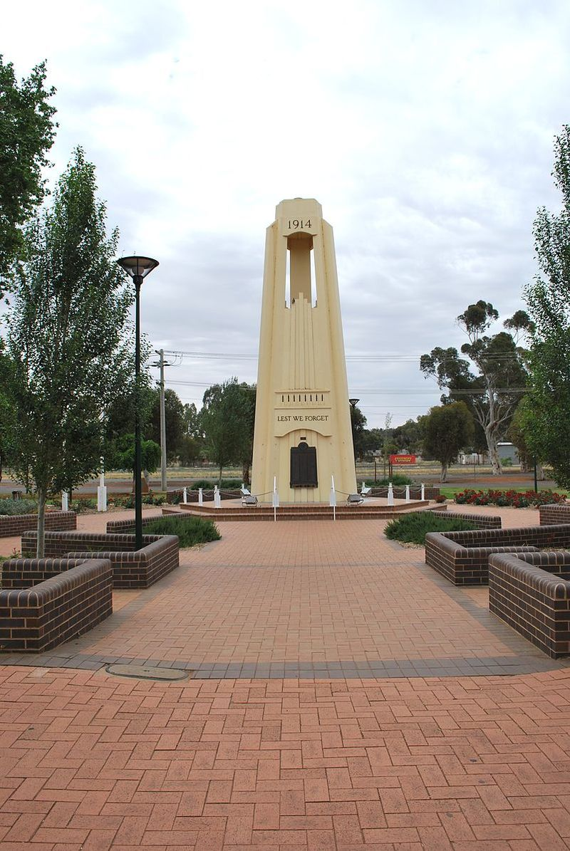 The War Memorial  - Discovering Griffith and Experiencing Outback on a Road Trip from Sydney