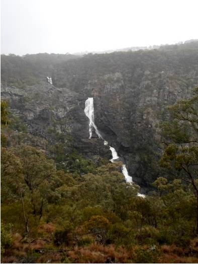 tia falls, Oxley Wild Rivers National Park, walcha