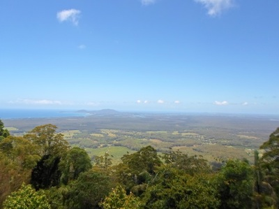 yarrahapinni mountain lookout, YARRIABINI LOOKOUT